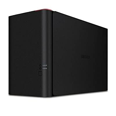 Buffalo Technology TeraStation 1200 8TB (2x 4TB) 2-Drive Entry-Level Small Business Network Attached Storage, RAID 0/1/JBOD, 480Mbps Transfer Rate (USB2), Hot-Swappable