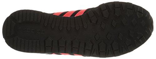 Adidas Mens 10k Lifestyle Runner Sneaker Nero / Solare Rosso / Grigio