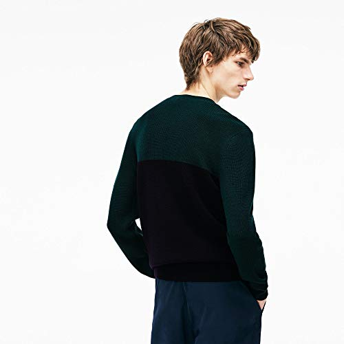 Homme Lacoste Ah9690 Marine Pull aconit 8nfwq6Bf