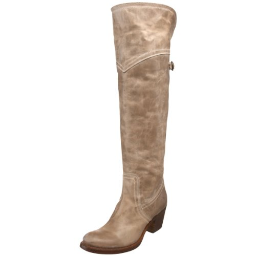 Frye Jane Tall Cuff Womens Leather Fashion - Knee-High