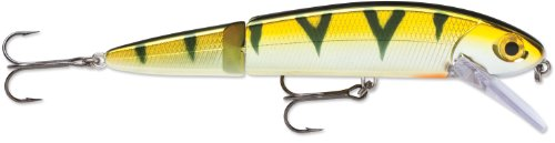 Storm FlatStick Jointed 16 Fishing Lure, Chrome Yellow Perch, 6-1/4-Inch
