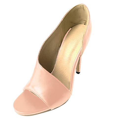 Fish Mate Replacement - SUNyongsh Sexy High Heel Women Ladies Summer Sexy Hollow Fish Mouth Thin Sandals Casual Shoes Pink