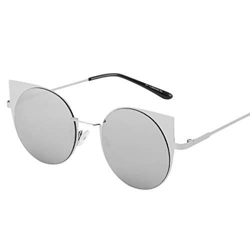Unisex Small Frame Sunglasses Vintage Retro Irregular Shape Sun Glasses