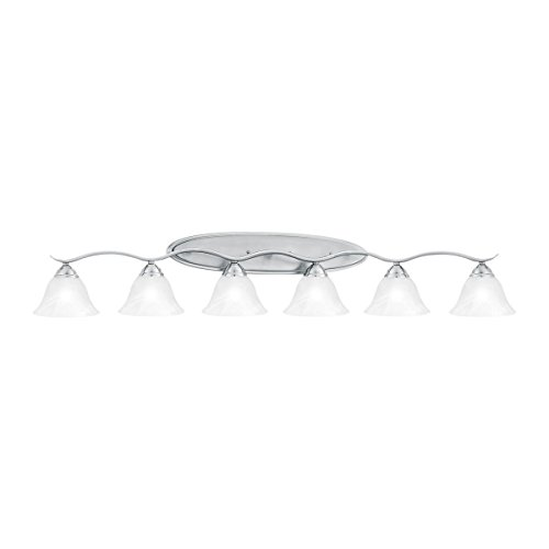Thomas Lighting SL748678 Prestige Bath Light, Brushed Nickel ()