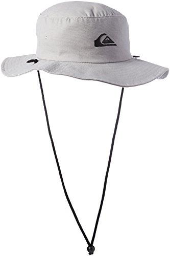 Quiksilver Men's Bushmaster Floppy Sun Beach Hat, Steeple Grey, Large/X-Large