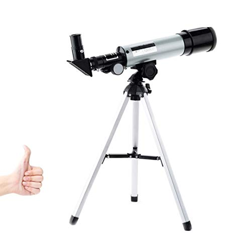 Portable Refraction Telescope-Ideal Telescope for Beginners-Entry-Level Astronomical Telescope-monocular Viewing Mirror-with Tripod Best Gift for Children