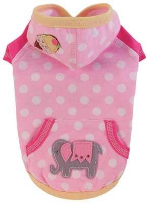 L Ellie Dog Hoodie Pink