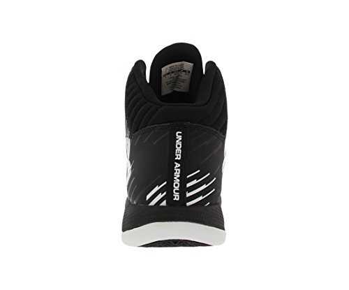 Under Armour Jet - Zapatillas de Baloncesto de material sintético Hombre Negro/Blanco