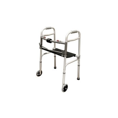 Roscoe 2 Button Walker with Roll-Up Seat