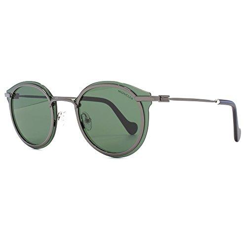 Sunglasses Moncler ML 18 ML 0018 08N shiny gumetal / - Moncler Shiny