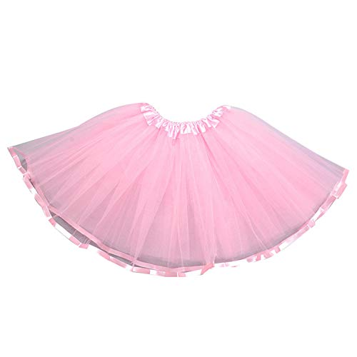 (storeofbaby Baby Tutu Ballet Dance Dress Up Tulle Skirt Holiday Birthday Costume)