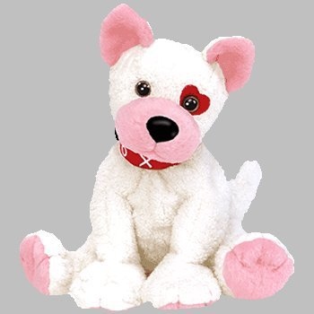 Amazon.com  Ty Beanie Babies - Cupid the Valentines Dog  Toys   Games e00c57b9973