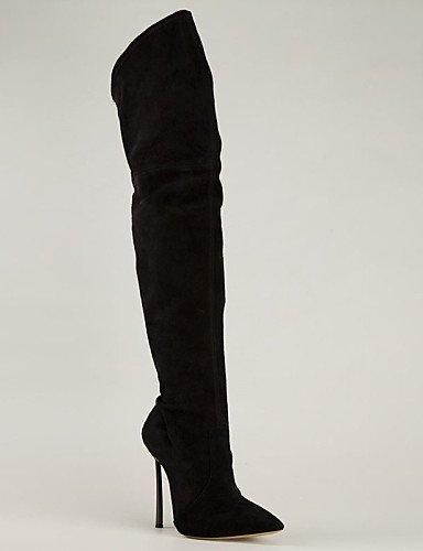 Fleece Citior Schuhe Damen Fashion Beute Damen Stiefel Stiletto Stiefel Absatz rFWv4TXW