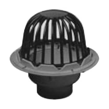 Oatey 78013 PVC Roof Drain With Plastic Dome, 3 Inch