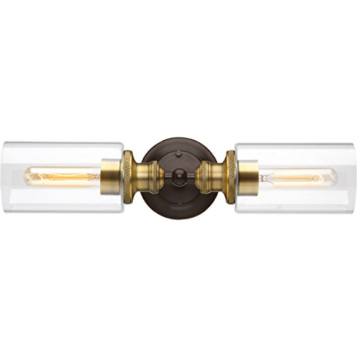 Progress Lighting P2809-20 Traditional/Classic 2-100W Med Bath Bracket, Antique Bronze