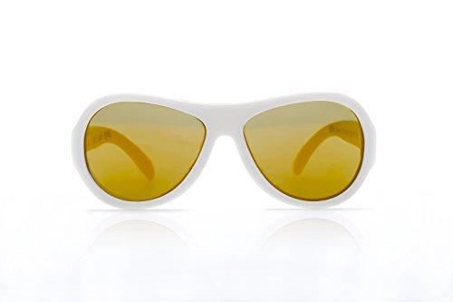 Shadez-Classic Kids Eyewear - White Junior: 3-7 years
