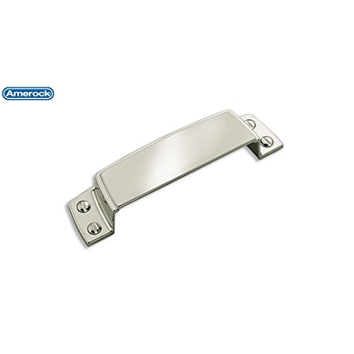 Amerock Highland Ridge 3-1/2 in. (89mm) Drawer Pull Polished Nickel - BP55318PN (Highland Ridge Cabinet)