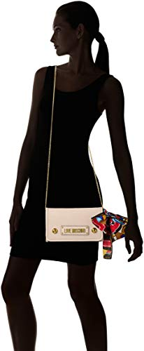 Sac X Grain Ecru Centimeters Bandoulière Pu L Moschino Love 15x10x15 w avorio Femme À H xwvtZO
