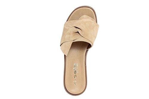 RI-BELLE - Sandalias de Piel para mujer beige beige
