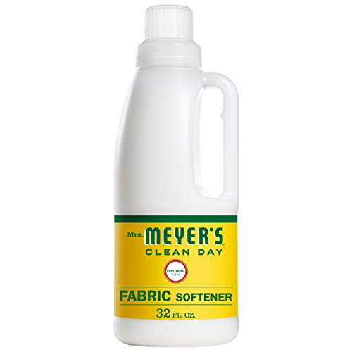 (Mrs. Meyer's Clean Day Liquid Fabric Softener Bottle, Honeysuckle Scent, 32 Fluid Ounce )