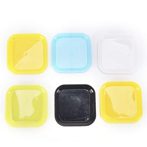 VHLL 3Pcs Water Planter Tray Garden Tools Plastic Plant Flower Pot Saucer Square Base Wholesale New