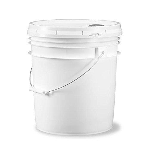 Food Grade 5 Gallon Bucket - 3 Pack With Pour Spout Lids