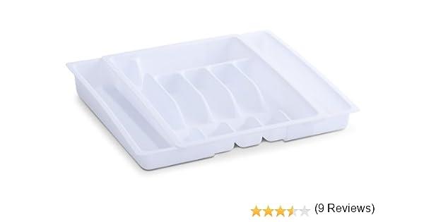 Zeller 99216 - Cubertero de plástico extensible, 29-51 x 38 ...