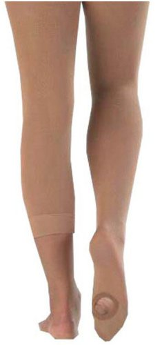 Bodywrappers Totalstretch Convertible Tights, LARGE/X-LARGE, Jazzy Tan