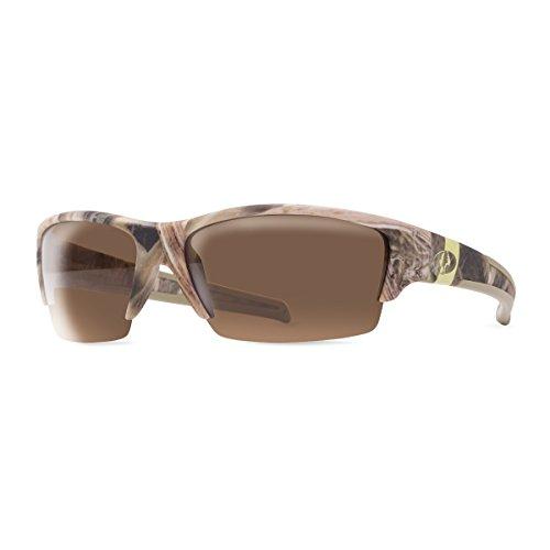 Mossy Oak Ramrod Polarized Sunglasses (Shadow Grass Blades with Polar Brown - Oak Sunglasses