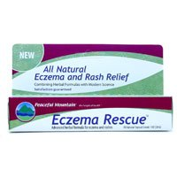 (Peaceful Mountain Eczema Rescue Homeopathic Lotion - 1 oz)