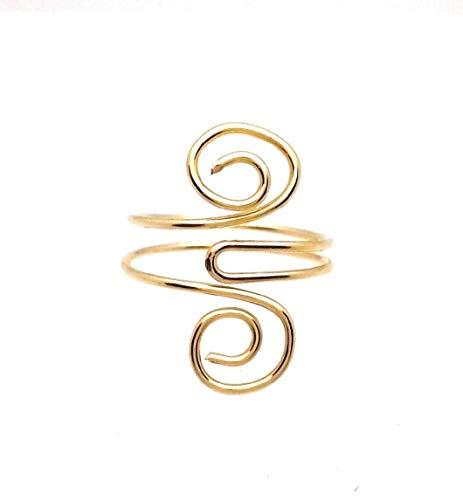 Toe Ring - 14 Kt. Gold Filled Adjustable ()