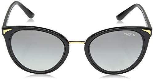 54 W44 Sol Mujer 11 de Grey para Gafas Negro Black Vogue VO5230S PXx6AA