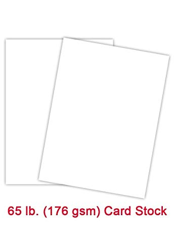 Neenah Astrobrights Premium Color Card Stock, Paper 65 Lb Cover/Cardstock - 250 Sheets Per Pack/1 Ream (8.5 x 11, Bright White)