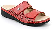 GRÜNLAND Women's LacaCE0682 Orthotic Friendly Leather Sa