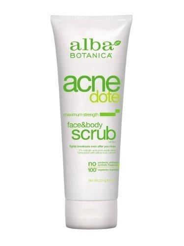 Alba Botanica ACNEdote Face & Body Scrub, 8 oz.