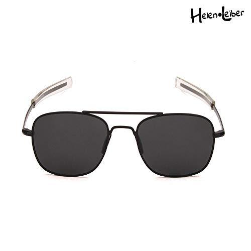 Retro Polarized Aviator Sunglasses - 55mm Classic Wayfarer Mirrored Sun Glasses For Unisex Drving Golf Fishing Business