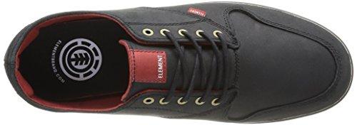 Element Topaz Premium Herren Sneaker Schwarz (Noir (Black))