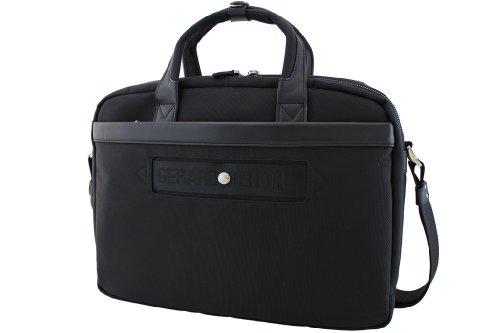 Tasche/Gérard Henon GH New Styl Nylon gefüllt Leder GH 2381 schwarz