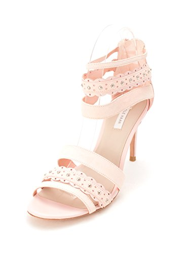 Cole Haan Womens 14A4079 Suede Open Toe Casual Strappy Sandals Seashell Pink ATlz5