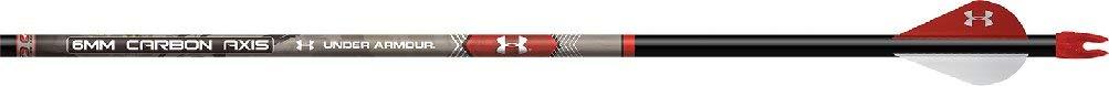 Easton 6mm Carbonaxis Ua Arrow Blazer Vanes 6 PK. Black, 340