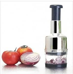 Stainless Steel Vegetable Garlic Onion Chopper Slicer Cutter Dicer by Abcstore99