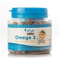 AFYE Kids Güçlendirilmiş Şeker Omega-3 (Arı Sütü) 50 Ayıcık