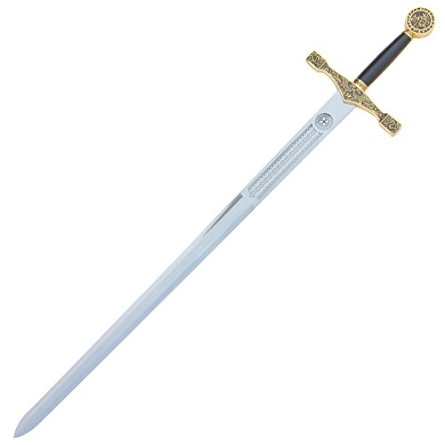 King Arthur Golden Excalibur Medieval Sword 48