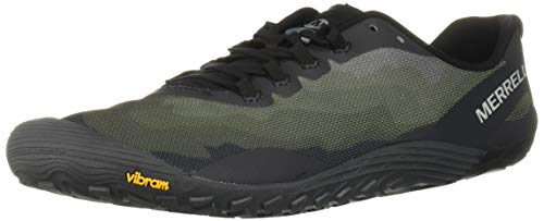 Merrell Men's Vapor Glove 4 Sneaker, Black, 08.5 M US