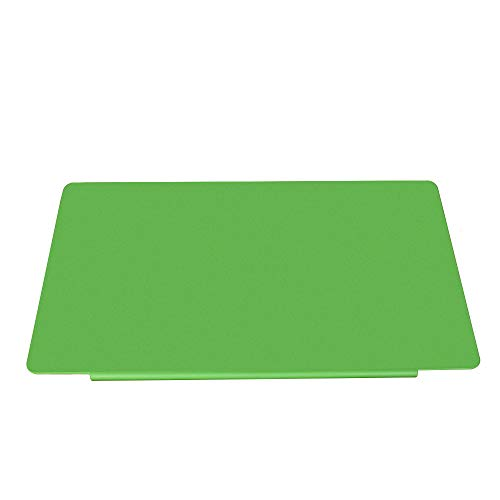LOHOME deskMat_Green Desk Pads Artificial Leather Laptop Mat with Fixation Lip, Perfect Desk Mate for Office and Home, Rectangular, Large, Green
