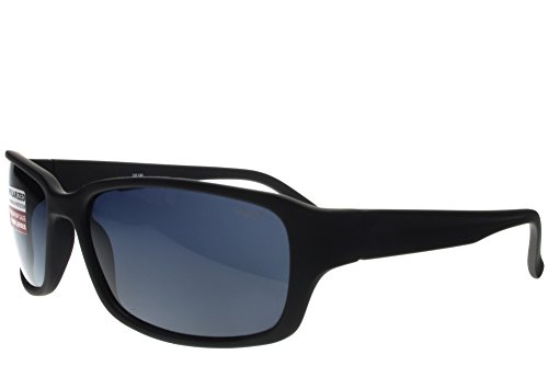 G&G Polarized BBST Big Head XXL Extra Wide 160mm Sunglasses Black Smoke (1.1 Mm Polarized Lens)