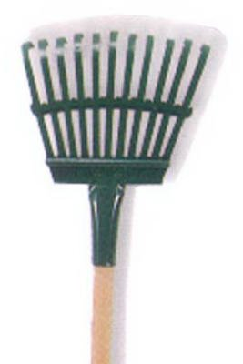Flexrake 3W 48'' Handle 8'' Steel Head Shrub Rake by Flexrake Corp