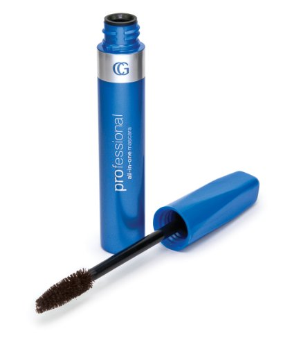 CoverGirl Professional All In One Straight Brush Mascara, Brown 015, 0.3 -Ounce (Pack of 3) ()
