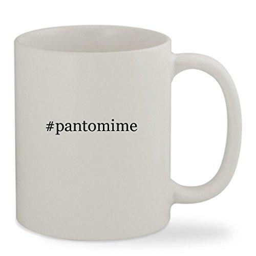 #pantomime - 11oz Hashtag White Sturdy Ceramic Coffee Cup Mug