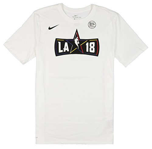 Nike Men's NBA All Star Weekend Logo T-Shirt XX-Large White